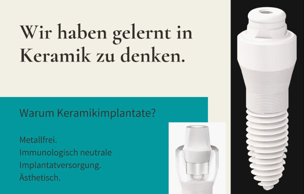 Keramik Implantat